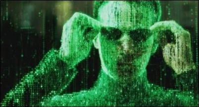 """Immagine promozionale del film """"Matrix"""" del 1999"""