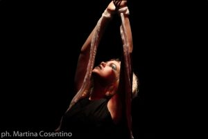 Anna Farina nel ruolo di Cassandra