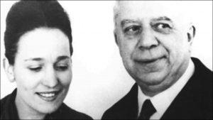 Eugenio Montale e Irma Brandeis